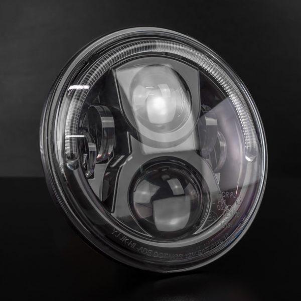 STEDI 7 Inch Carbon Black LED Headlight