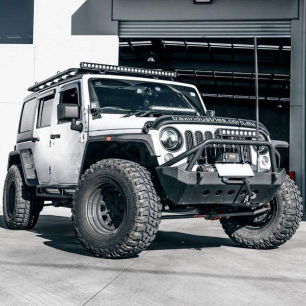 Jeep Wrangler LED Headlight Conversion