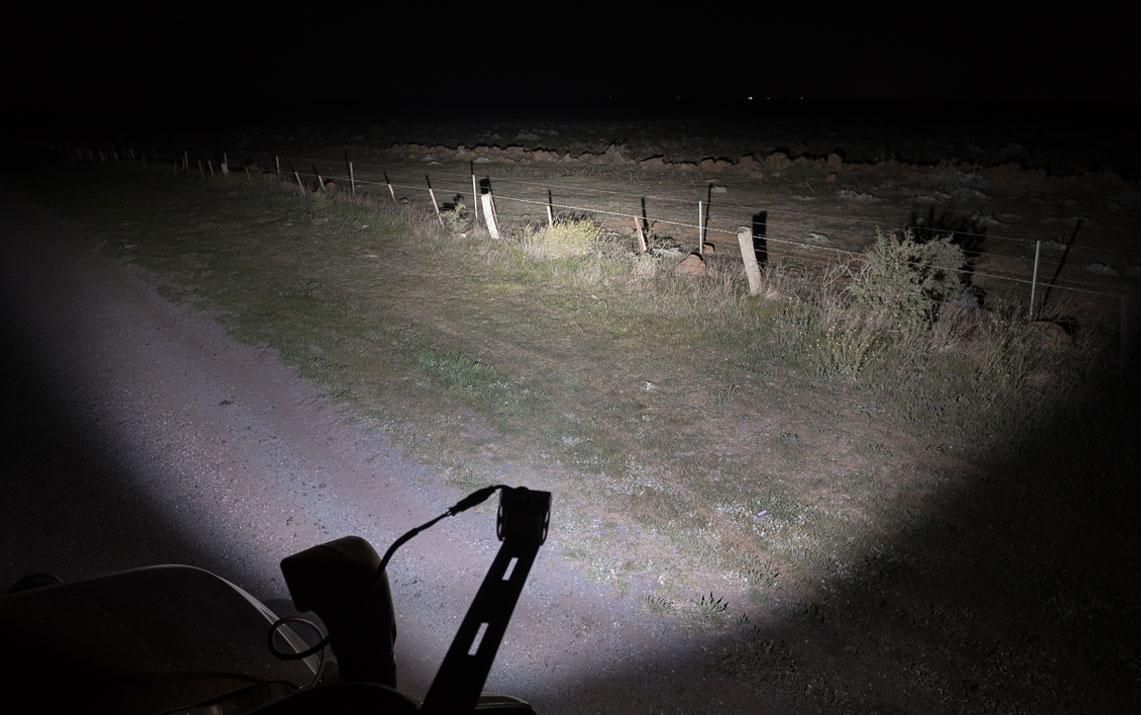 STEDI C4 LED Flood Light Night Shot