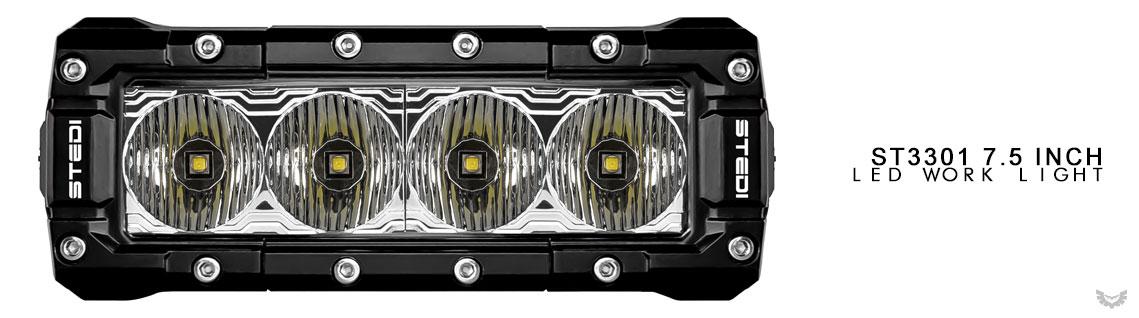 ST3301 LED Work Light 7.5 inch