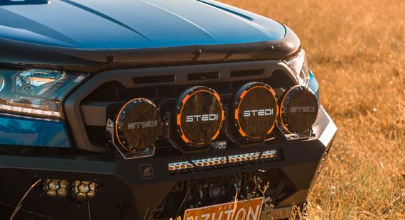 STEDI Type X Sport 7 Inch LED Spot Lights Ford Ranger Raptor