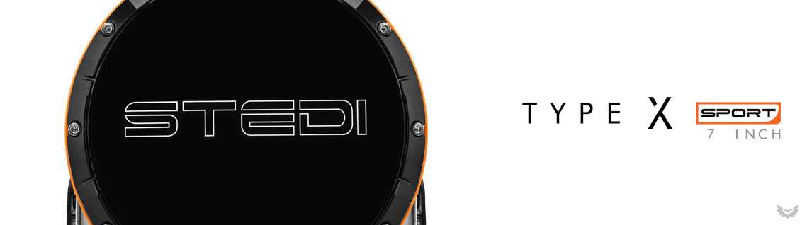 STEDI Type X Sport LED Driving Spot Lights 7 Inch