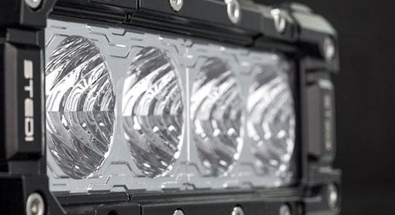 STEDI ST3301 4 LED Work Light 7 Inch