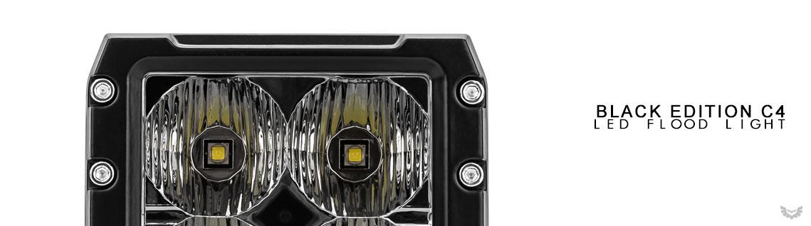 C4 Black Edition Flood Light