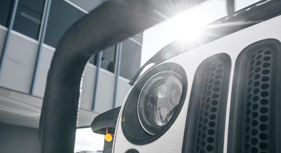 STEDI Carbon Jeep Wrangler headlights
