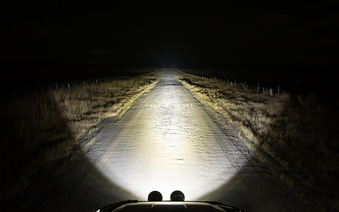 STEDI Type X Sport LED Spot Lights Night Shot