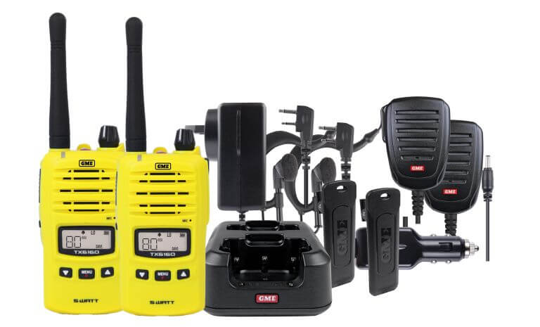 GME tx6160xytp Yellow CB Radio