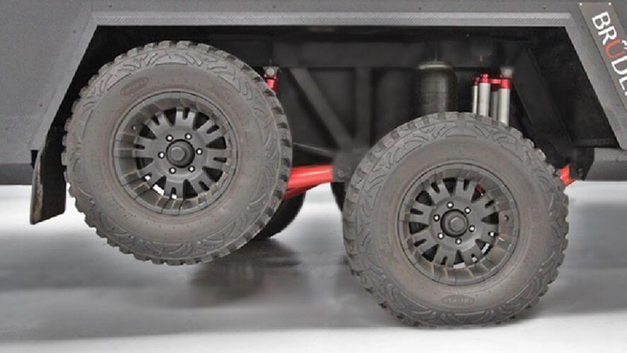Bruder Jackless Tyre Change