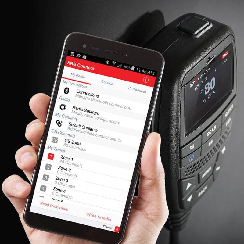 GME XRS UHF Radio Smartphone App