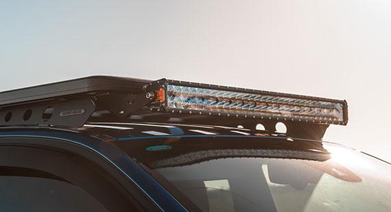 STEDI ST3303 PRO 39 Inch LED Light Bar Ford Ranger Raptor Rhino Rack Platform