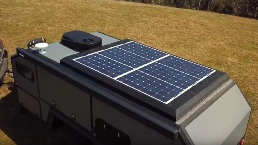 Bruder Trailer Solar Panels