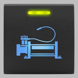 STEDI Square Type Push Switch Air Compressor