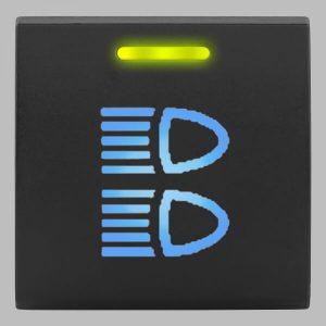 STEDI Square Type Push Switch Driving Lights