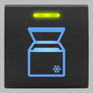 STEDI Square Type Push Switch Portable Fridge