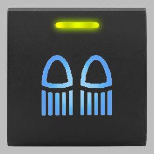 STEDI Square Type Push Switch Rear Lights