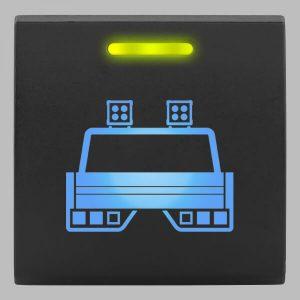 STEDI Square Type Push Switch Tray Lights