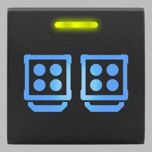 STEDI Square Type Push Switch Work Lights