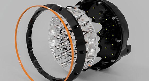 STEDI Type X Sport 8.5 Inch LED Spot Lights