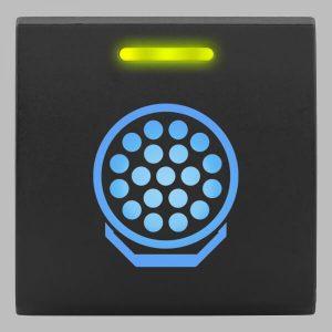 STEDI Square Type Push Switch Spotlight