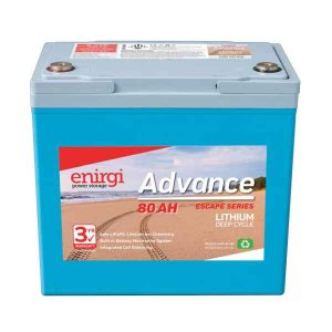 Enirgi Advance Escape Lithium Battery 80Ah