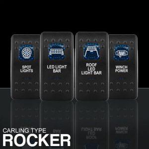 STEDI Carling Type Rocker Switches