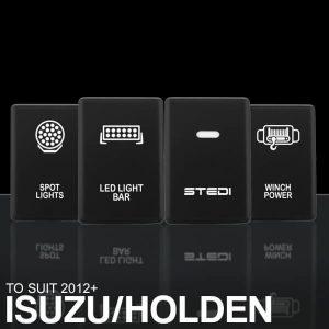 STEDI ISUZU (2012+) D-MAX COLORADO PUSH SWITCHES