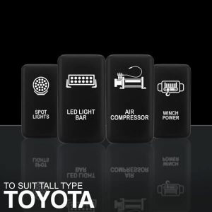 STEDI TALL TYPE PUSH SWITCHES TO SUIT TOYOTA