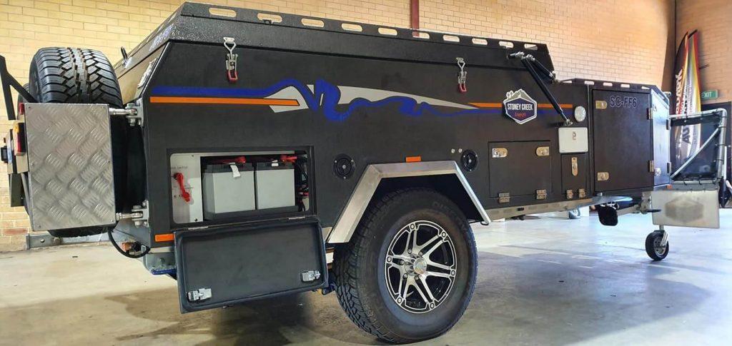 camper trailer dual battery setup
